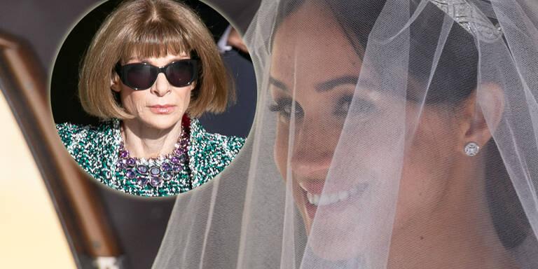 Das sagt Anna Wintour zu Meghans Brautkleid