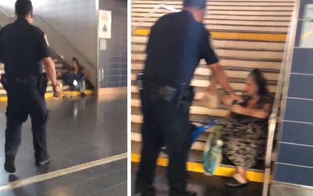 Polizisten sangen für Obdachlose