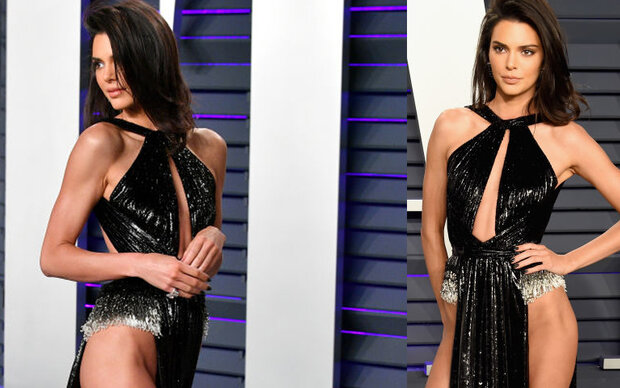 Kendall Jenner: Ohne Slip bei Oscar-Party