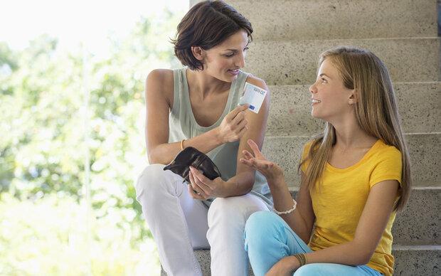 So viel Taschengeld bekommen Kids im Durchschnitt
