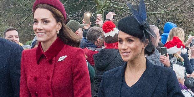 Enthüllt! Herzogin Kate fühlt sich von Meghan ausgenutzt