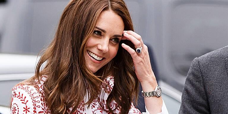 Weshalb Kate niemals roten Nagellack trägt
