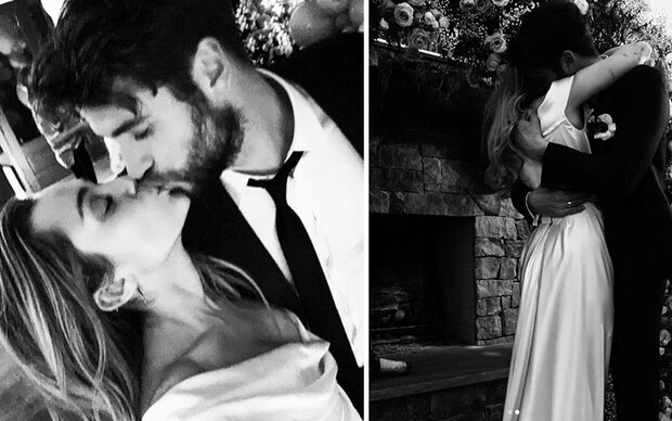 Miley Cyrus' traumhaftes Brautkleid