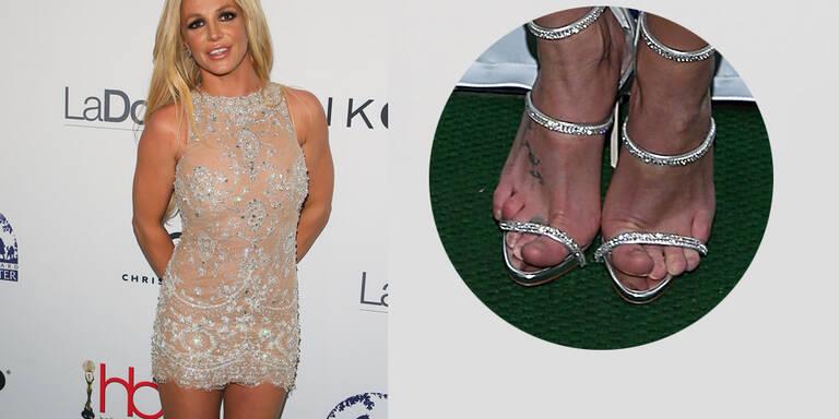 Britney, wie läuft es sich am Teppich?