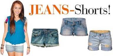 Schnipp, schnapp Jeans-Shorts!