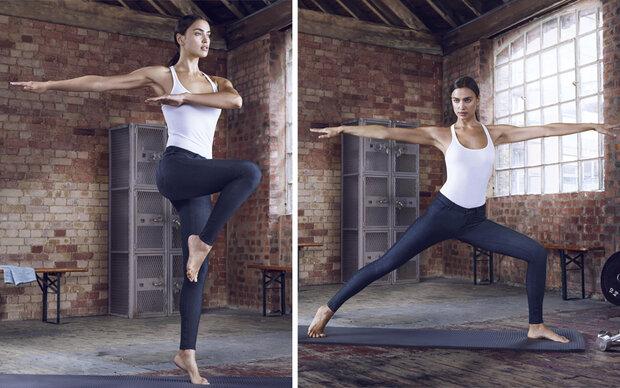 So bringt Irina Shayk ihren Body in Form