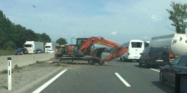 Schwerer Unfall in Thalgau
