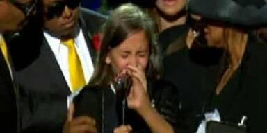 Jacksons Tochter rührt zu Tränen