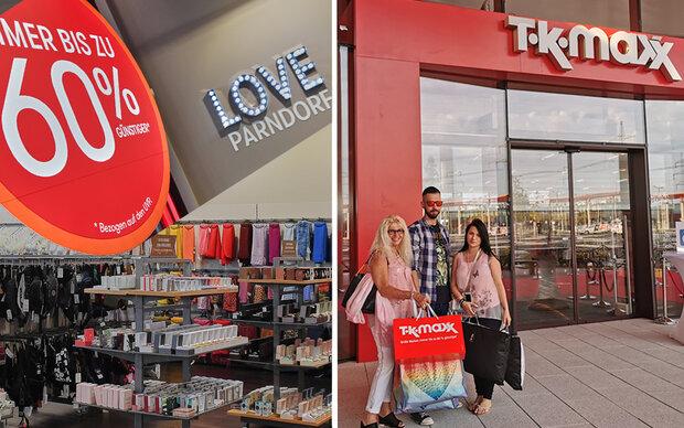 TK MAXX in Parndorf: MADONNA-Gewinner beim Pre-Shopping