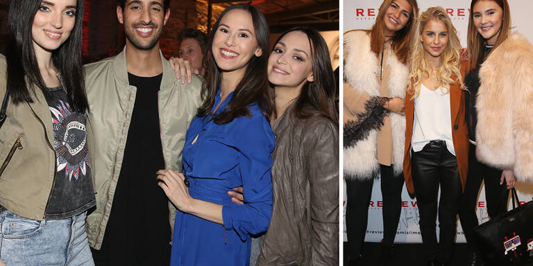 It-Models feierten mit Sami Slimani