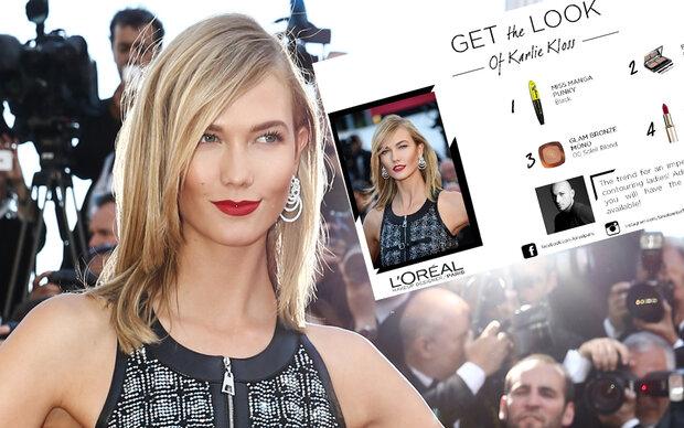 Cannes-Style: Karlie macht es vor!