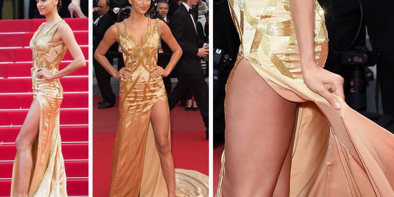 Irina Shayk: Bein-Show in Cannes