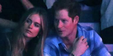 Cressida Bonas begleitet Prinz Harry zu Charity-Veranstaltung