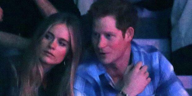 Harry & Cressida turteln bei Charity-Gala