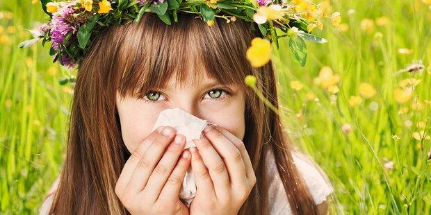Pollenalarm: Allergieschutz für Kids