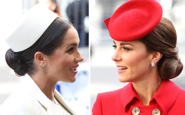 Hut-Parade der Herzoginnen