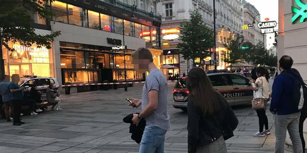 Bomben-Alarm Kärntner Straße