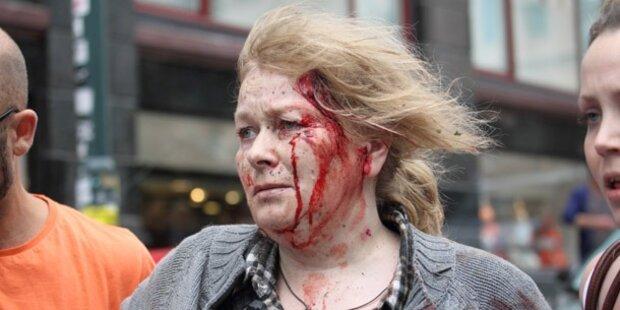 91 Tote bei Doppel-Anschlag in Norwegen