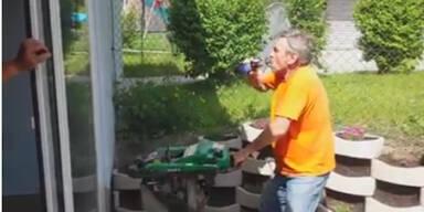 Internet lacht über Rüttel-Bier-Video