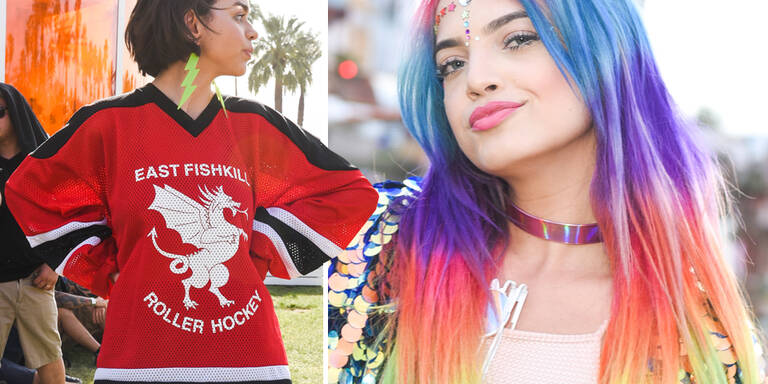 Die Looks vom Coachella-Festival