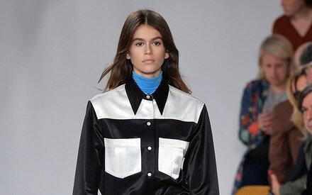 Crawford-Tochter debütiert bei der New York Fashion Week
