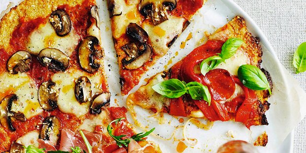 Low Carb: Pizza mit wenig Kohlenhydraten