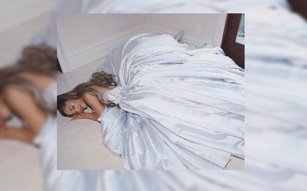 Ariana Grande zeigte ihr Grammy-Kleid
