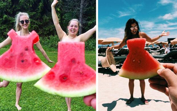 Jetzt tragen alle Wassermelonen-Kleider