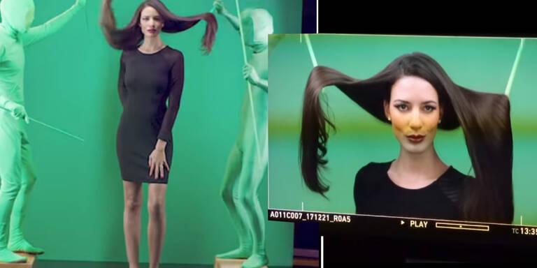So wird in Shampoo-Werbungen getrickst