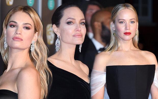 """Black Carpet"" bei den BAFTA-Awards"