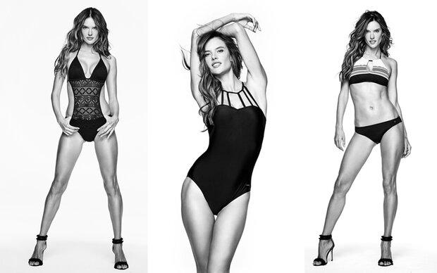 Alessandra Ambrosio modelt für Lascana