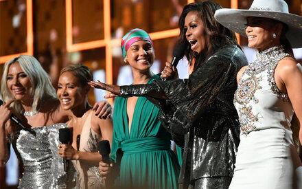 Grammys feiern die Frauen