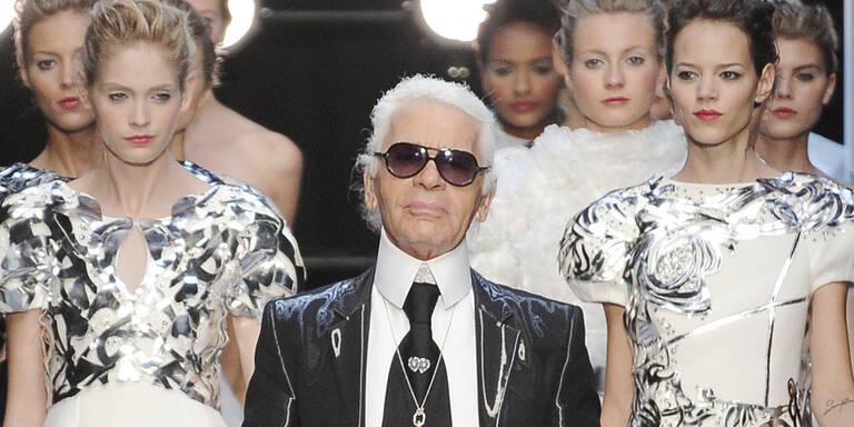 Karl Lagerfeld revolutionierte die Mode