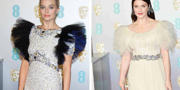 Drama-Roben: Viel Tüll bei den BAFTAS