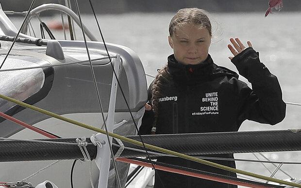 Greta Thunberg vor New York eingetroffen