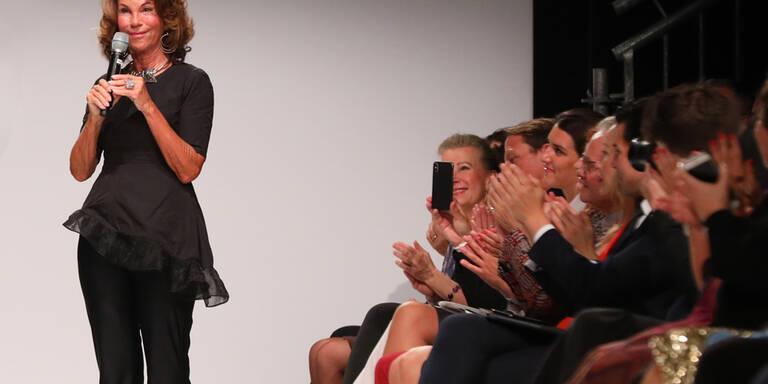 Brigitte Bierlein eröffnete MQ Vienna Fashion Week