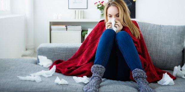 Rekord: Schon 100.000 mit Grippe