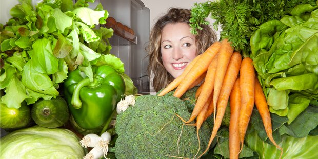 So hält der Salat im Kühlschrank länger