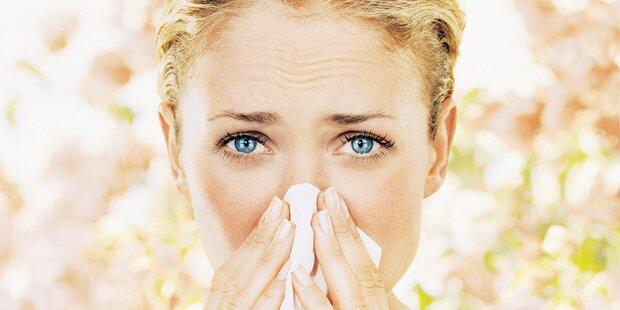 Habe ich eine Allergie?
