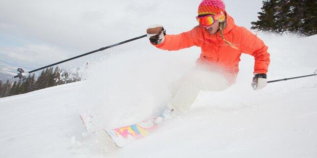Skibindungen lösen bei Frauen seltener aus
