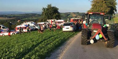 Traktoranhänger-Sturz: Frau erlag ihren Verletzungen