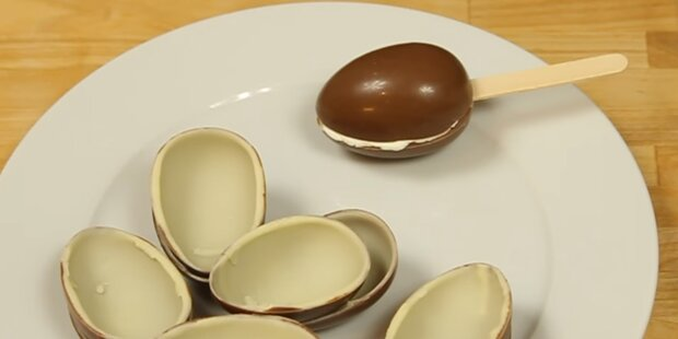 So wird aus dem Überraschungs-Ei ein Eis