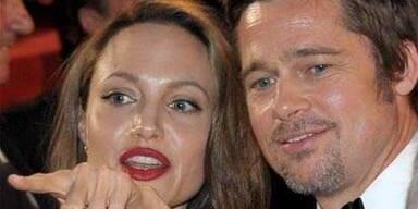 Jolie und Pitt im Stress?