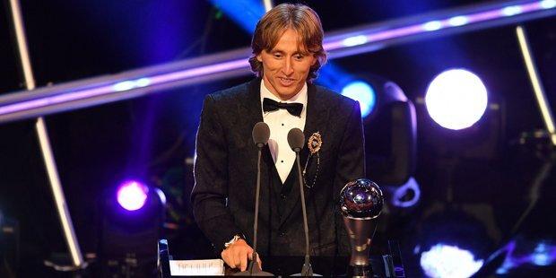 Luka Modric ist Weltfußballer des Jahres