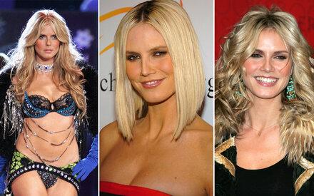 So sehr hat sich Heidi Klum verändert