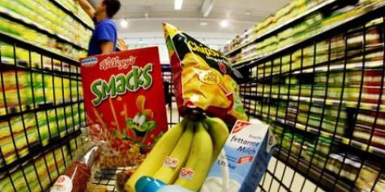 Lebensmittel werden günstiger