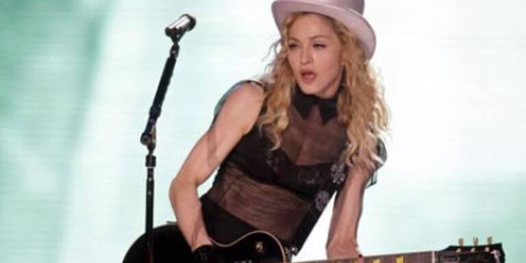 Madonna leidet für die Schönheit