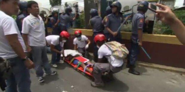 Ein Toter nach Gewalt zwischen Hausbesetzern und Polizei