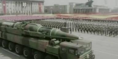 Nordkorea droht mit 'nie dagewesenem' Militärschlag