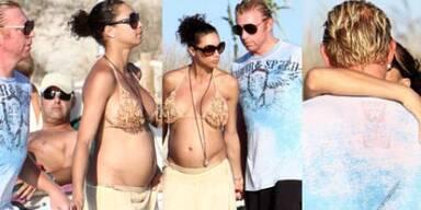 So schön schwanger ist Lilly Kerssenberg